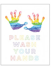 Rainbow - Please Wash Your Hands