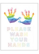 Rainbow - Please Wash Your Hands