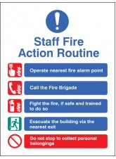 Staff Fire Action