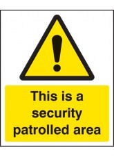 This Is a Security Patrolled Area