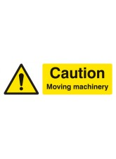 Caution Moving Machinery