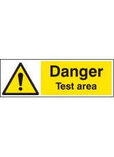 Danger Test Area