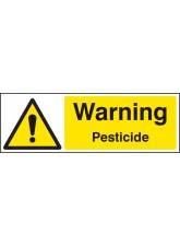 Warning Pesticide