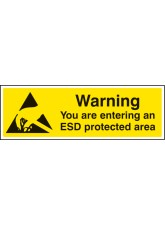 Warning You Are Entering An ESD Protected Area