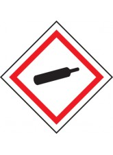 GHS Labels - Compressed Gas
