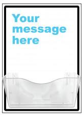 "Bespoke ""Your Message"" Document Holder"