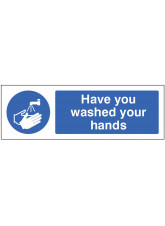Coronavirus Floor Graphic - Have you washed your hands