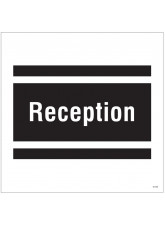 Reception - Site Saver Sign - 400 x 400mm