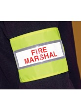 Fire Marshal Reflective Armband