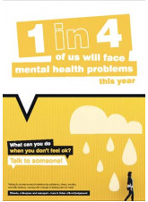 Mental Health Poster - What Can you do when you don't feel ok