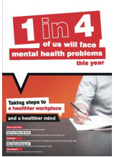 Mental Health Poster - Taking Steps to a Healthier Workplace