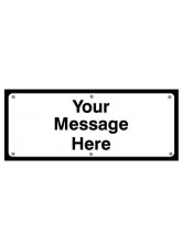 Your Message Fold up Supplementary Text with Studs