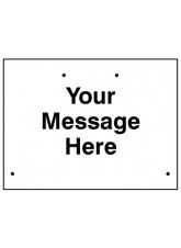 Re-Flex Sign - Your Message Here - Custom Sign
