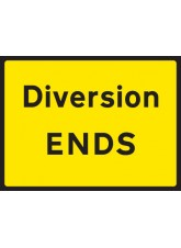 Diversion End - Class RA1 - 1050 x 750mm