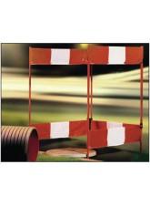 Folding Barrier Regular 4 Sides 750 x 1000mm