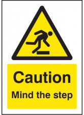 A5 Caution Mind the Step
