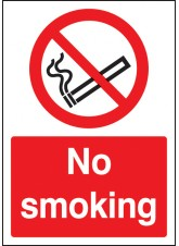A4 No Smoking
