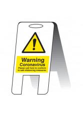 Coronavirus Lightweight A-Frame