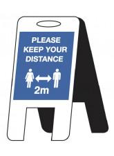 Please Keep your Distance Lightweight A-Frame