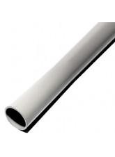 Grey Galvanised Steel Pole Powder Coated 2.5 Metre x 76mm