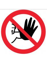 Floor Graphic - No Entry Symbol