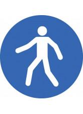 Pedestrian - Floor Graphic