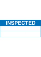 Roll of 100 Inspected Labels - 50 x 20mm