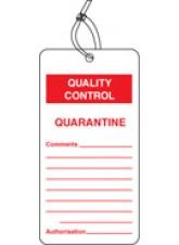 QC Tag - Quarantine (Pack of 10)