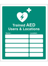 Trained AED Users & Locations