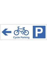 Cycle Parking - Arrow Left