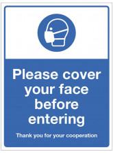 Cover your Face before Entering